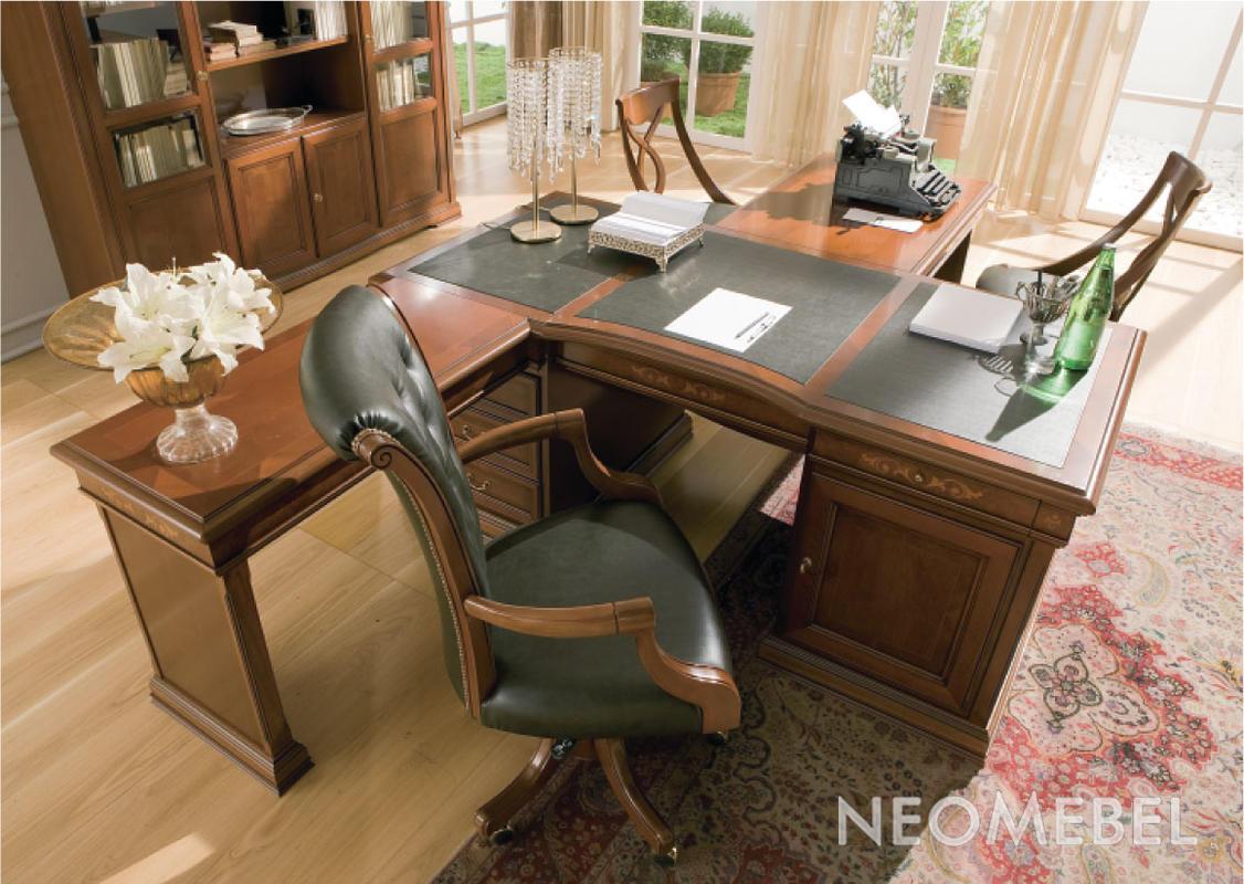 Мебель для кабинета - кабинет medici - стол письменный ed200.